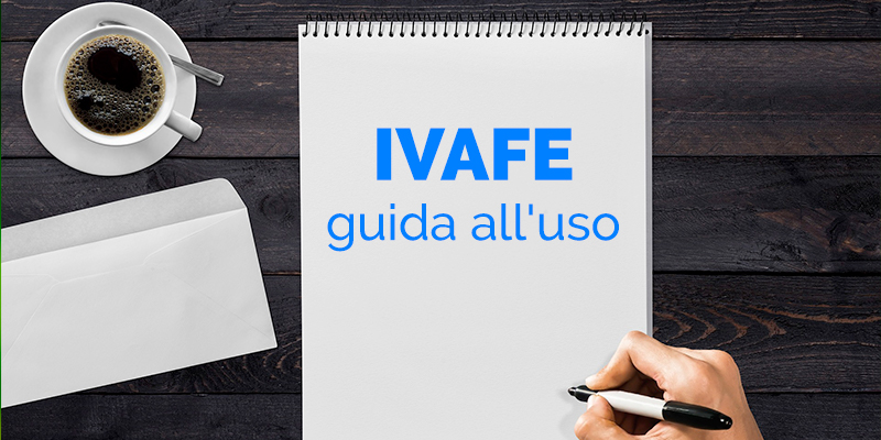 ivafe_guida all'uso
