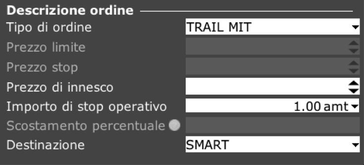 Ordine TRAIL MIT TWS