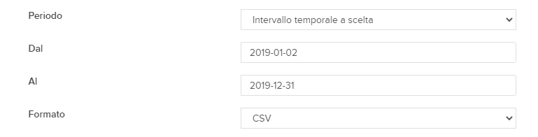 Download del report dell'attività di trading online dal Client Portal di Interactive Brokers.
